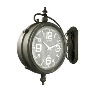 mensula reloj bifaz
