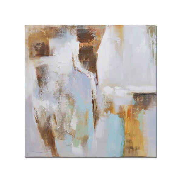 Bastidor Abstracto Pastel 1 80x80