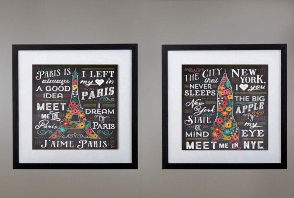 Cuadros París - NYC