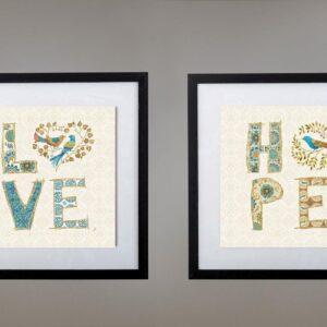 cuadros love hope