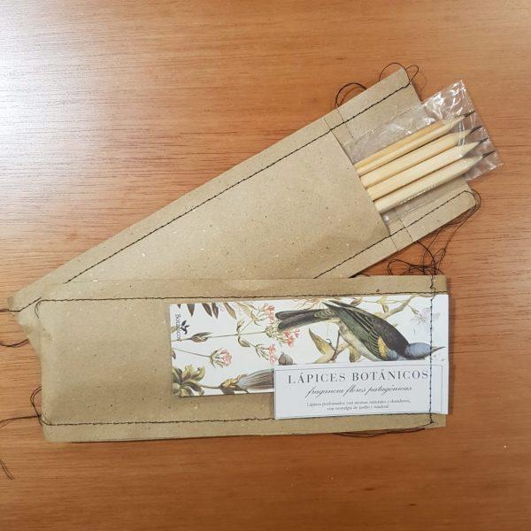 Pack de lápices botánicos x 4 unidades