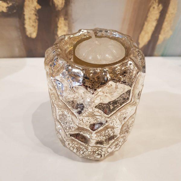Portavela de vidrio CL