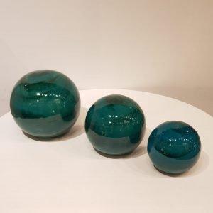 Esferas cerámica esmaltadas