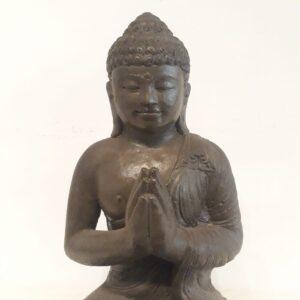 Buda sentado símil piedra 45