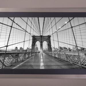 Cuadro puente Brooklyn perspectiva PL