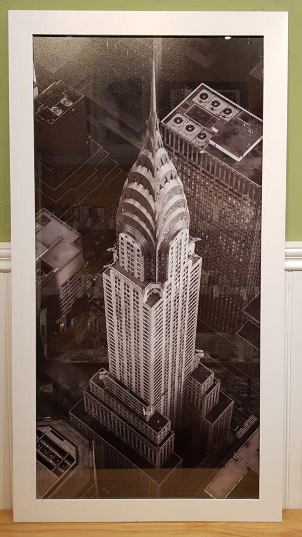 Cuadro edificio Chrysler BL