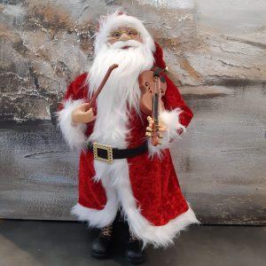 Papá Noel con violín