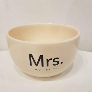Bowl Mrs.