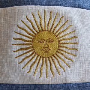 Almohadón Bandera Argentina