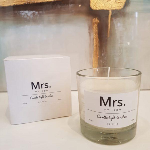 Velas perfumadas Mr Mrs