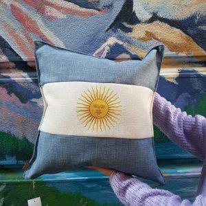 almohadon bandera argentina
