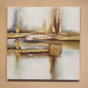 Bastidor Abstracto Gold A