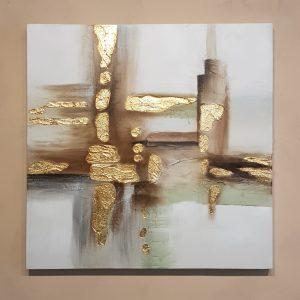 Bastidor Abstracto Gold B