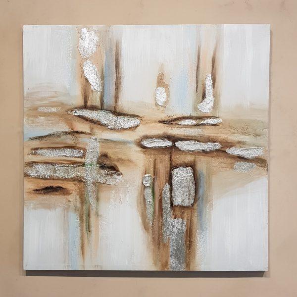 Bastidor Abstracto Silver A