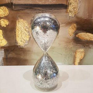 Reloj Glitter Plateado