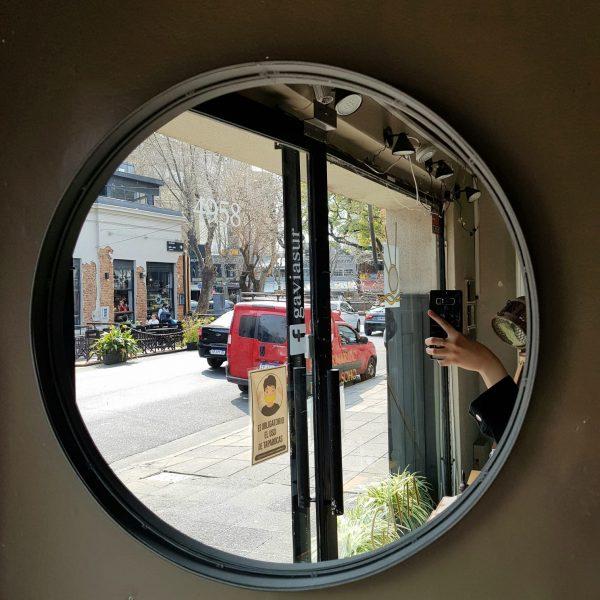 Espejo Plomo 45