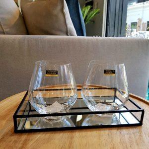 6 vasos cristal