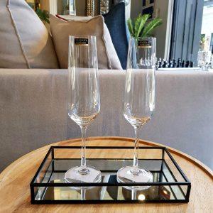 Copas Cristal Champagne